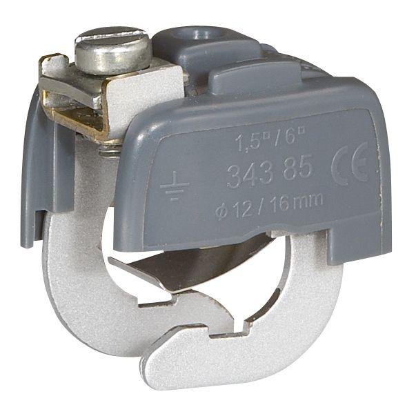 Svorka 034386 uzemňovacia, pr.18-22mm, 6mm2 034386 LEGRAND 600