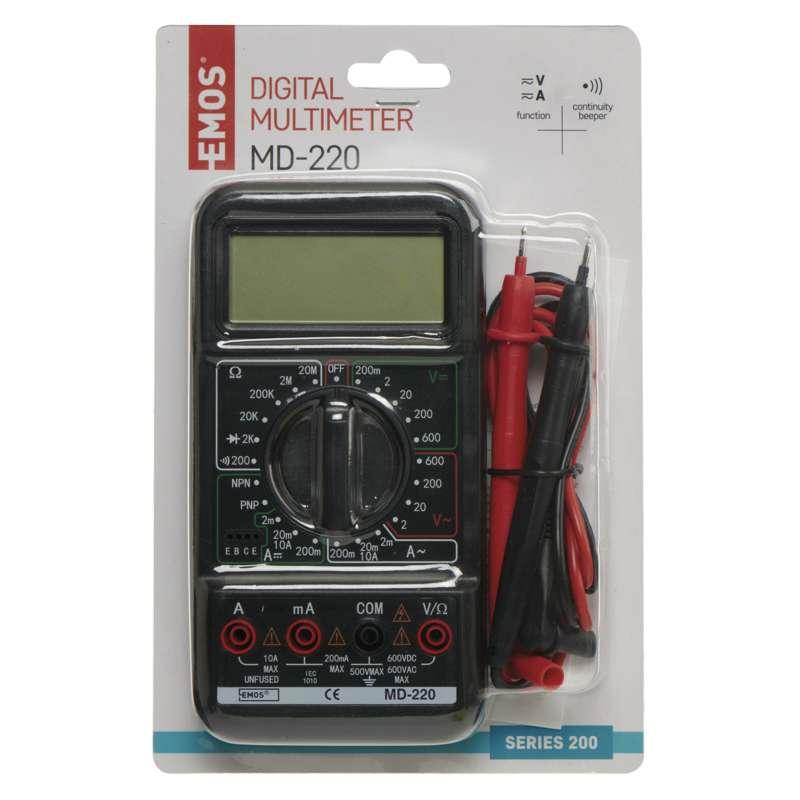 Multimeter MD-220 (M2092) digitálny (EMOS) 2202003000 E11 M2092