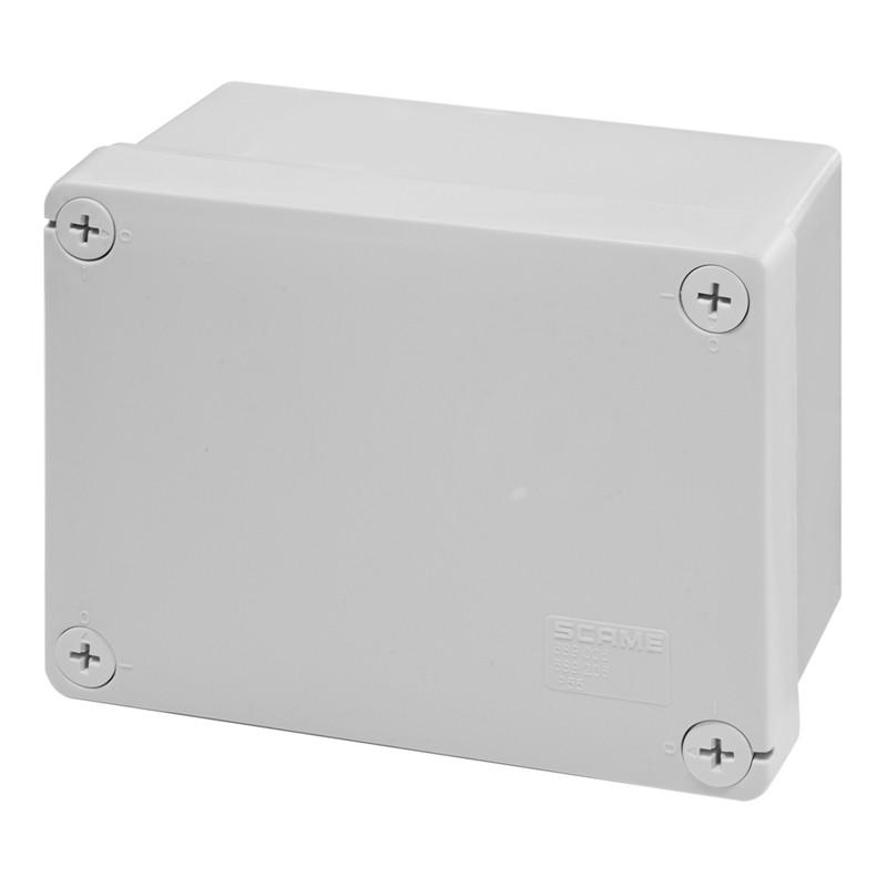 Škatuľa inštalačná 689.206 CUBIK, 150x110x70mm, HALOGEN FREE, UV odolná, IP55 bez vývodiek SCAME 689206 689206 scame box 150x110x70 cubox ip55
