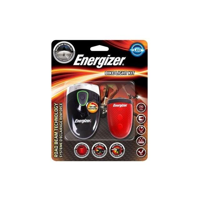 Sada E300440300 predné+zadné cyklo svietidlo 4xAA/2AAA Energizer (Vega) Energizer EN Bike Light 3AA front 2 AAA bac