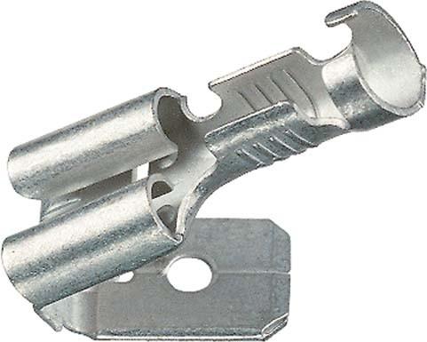 Klauke 1830/3 AZ koncovka plochá 1,5-2,5mm* (bal=100ks) Klauke Flachsteckhuelse 1730 AZ 8510 0