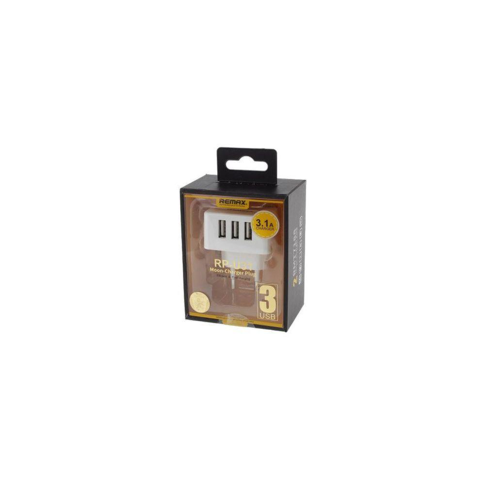 Nabíjačka RP-U31 3-nás. USB (AA-1166) 1x2,1A+2x1A (Vega) 413550