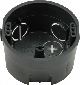 Škatuľa 6400-201/3 prístrojová, spojovacia, prázdna bez skrutiek (1901+3x dierky na uchytenie prístroja) 6400 201