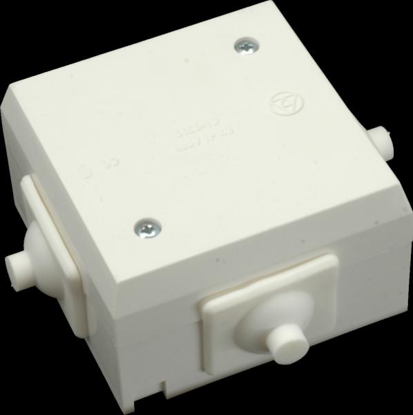 Rozvodka 6456-13, plast, so svorkou, 4p, 4mm2, biela, 70x70x42mm, IP43 6456 13