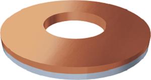 Podložka cupal 7373-07, priemer 6,5mm 7373 01 100 cu2