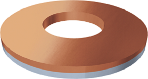 Podložka cupal 7373-09, priemer 8,5mm 7373 01 100 cu4