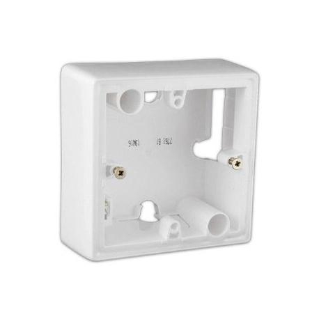 Škatuľa 776181 Valena, biela, na omietku, 1násobná 776181 valena krabica mala biela ip44