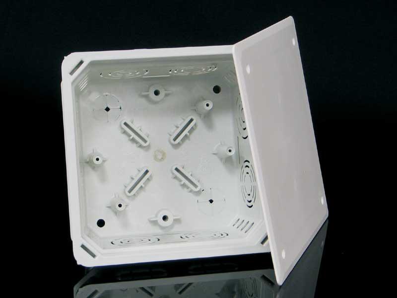 Škatuľa KO 100 E KA pod omietku, s viečkom 128x128 KO 100 E KA