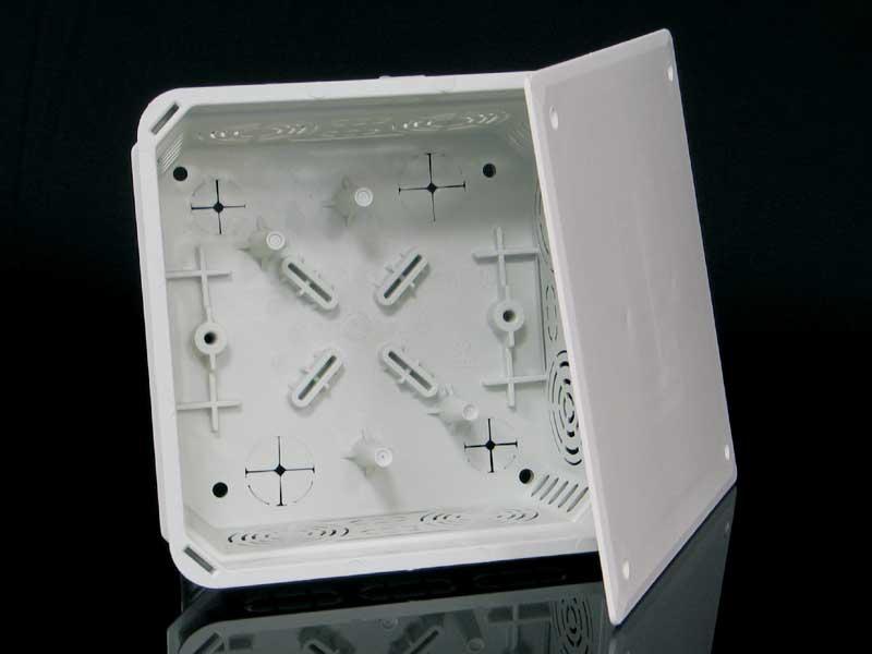Škatuľa KO 125 E KA pod omietku, s viečkom (150x150x77mm) KO 125 E KA
