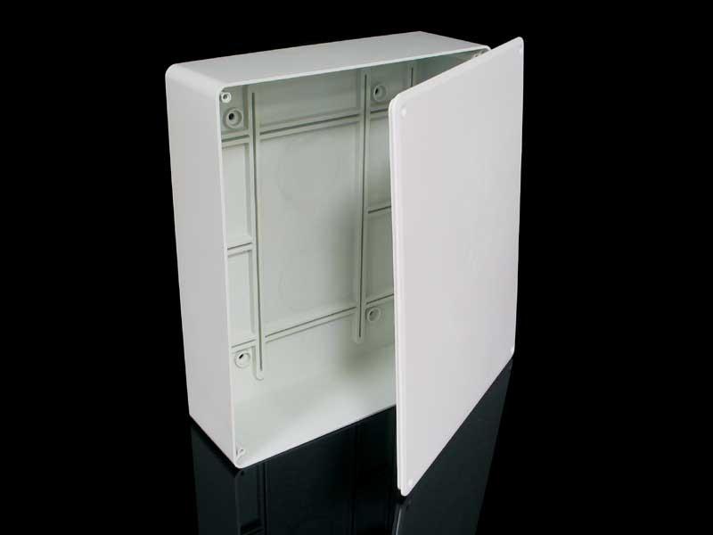 Škatuľa KT 250 KB na/pod omietku, s viečkom (255x205x68mm) KT 250 KB