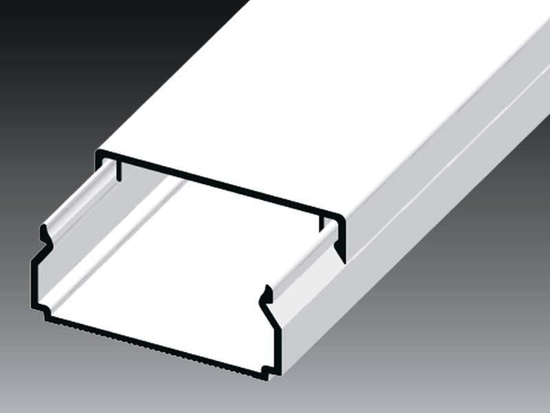 Žľab LHD 40x20 HD biely (l=2m) LHD40X20