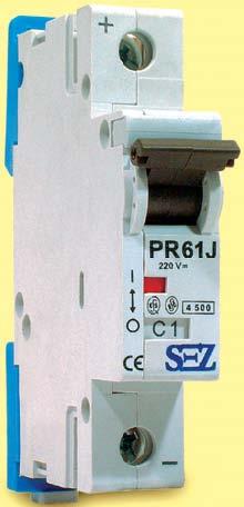 Istič PR 61 C 4A, 1p (10kA) (0099204) PR61JC1