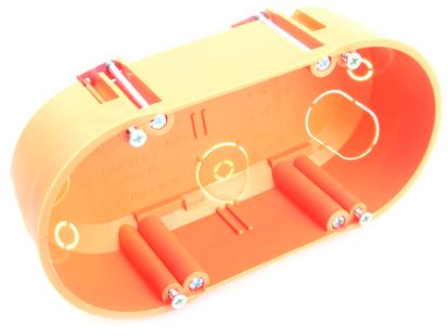 Škatuľa HWDZ 65 OR do dutých stien 2násobná dietz 2e453e hwdz 65