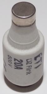 Vložka 002312106 poistková tavná 20A F DII,E27 rýchla img5759bf891c16a