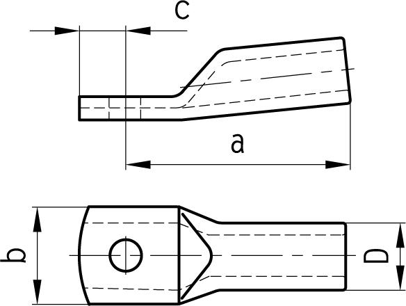 Oko kábelové pre Al jadro 16; M6 617055 m a 07 01 01