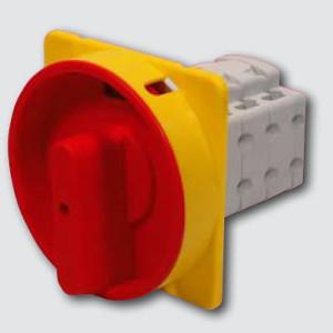 Spínač vačkový S32 JUG 1103 A6R 3pól. uzamykateľná červená páčka (0 - 1) (0123258) s16 jug 1103 a6 r 2