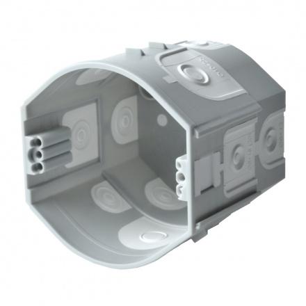 Škatuľa KPR 68/D KA oválna pod omietku s membránami, spojovacia, prístrojová, 2xvrut (hĺbka 70mm) kpr 68 d